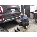 Stealth Hitches Trailer Hitch Installation - 2021 Hyundai Palisade