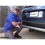 Stealth Hitches Hidden Rack Installation - 2020 Subaru Outback Wagon