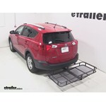 Surco Hitch Cargo Carrier Review - 2013 Toyota RAV4