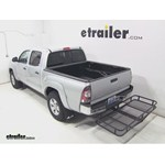 Surco Hitch Cargo Carrier Review - 2013 Toyota Tacoma