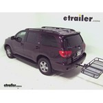 Surco Folding Hitch Cargo Carrier Review - 2012 Toyota Sequoia