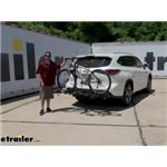 Swagman Hitch Bike Racks Review - 2020 Toyota Highlander