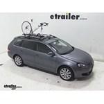 Swagman Fork Down Roof Bike Rack Review - 2011 Volkswagen Jetta SportWagen