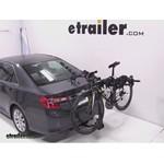 Swagman Titan Hitch Bike Rack Review - 2012 Toyota Camry