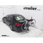 Swagman Trailhead Hitch Bike Rack Review - 2007 Infiniti G35