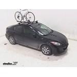 Swagman Upright Roof Mounted Bike Rack Review - 2013 Mazda 3