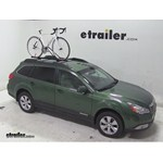 Swagman Upright Roof Mounted Bike Rack Review - 2011 Subaru Outback Wagon