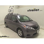 Swagman Upright Roof Mounted Bike Rack Review - 2014 Toyota Sienna
