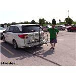 Swagman XTC-2 Hitch Bike Racks Review - 2018 Honda Odyssey