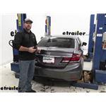 Tekonsha T-One Vehicle Wiring Harness Installation - 2014 Honda Civic