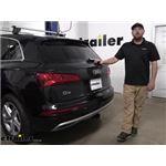 Tekonsha Upgraded Modulite Vehicle Wiring Harness Kit Installation - 2019 Audi Q5