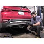 Tekonsha T-One Vehicle Wiring Harness Installation - 2020 Hyundai Santa Fe