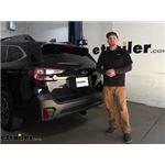 Tekonsha T-One Vehicle Wiring Harness Installation - 2021 Subaru Outback Wagon