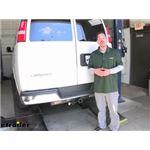 Tekonsha T-One Vehicle Wiring Harness Installation - 2019 Chevrolet Express Van