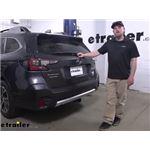 Tekonsha T-One Vehicle Wiring Harness Installation - 2020 Subaru Outback Wagon