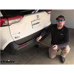 Tekonsha T-One Vehicle Wiring Harness Installation - 2021 Toyota RAV4