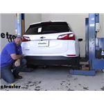 Tekonsha T-One Vehicle Wiring Harness Installation - 2019 Chevrolet Equinox