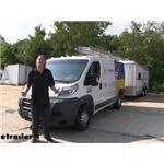 Tekonsha OEM Replacement Vehicle Wiring Harness Installation - 2016 Ram ProMaster 1500