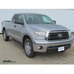Trailer Brake Controller Installation - 2013 Toyota Tundra