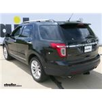 T-One Vehicle Wiring Harness Installation - 2013 Ford Explorer