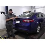 Tekonsha T-One Vehicle Wiring Harness Installation - 2016 Ford Fusion