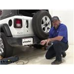 Tekonsha T-One Vehicle Wiring Harness Installation - 2019 Jeep Wrangler