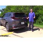 Tekonsha T-One Vehicle Wiring Harness Installation - 2020 Honda CR-V