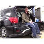 Tekonsha T-One Vehicle Wiring Harness Installation - 2020 Nissan Pathfinder