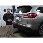 Tekonsha T-One Vehicle Wiring Harness Installation - 2020 Subaru Ascent