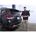 Tekonsha T-One Vehicle Wiring Harness Installation - 2020 Subaru Forester
