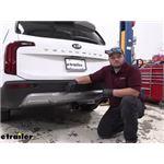 Tekonsha T-One Vehicle Wiring Harness Installation - 2021 Kia Telluride