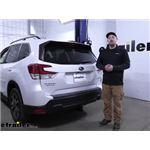 Tekonsha T-One Vehicle Wiring Harness Installation - 2021 Subaru Forester