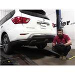 Tekonsha T-One Vehicle Wiring Harness Installation - 2017 Nissan Pathfinder