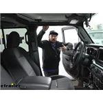 Tekonsha Voyager Trailer Brake Controller Installation - 2021 Jeep Gladiator