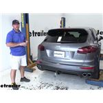 Tekonsha ZCI Circuit Protected Vehicle Wiring Harness Installation - 2017 Porsche Cayenne