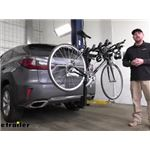 Thule Hitching Post Pro Hitch Bike Rack Review - 2016 Lexus RX 350