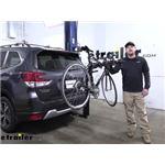 Thule Hitching Post Pro Hitch Bike Racks Review - 2020 Subaru Forester