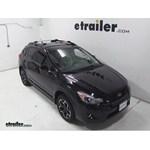 Thule AeroBlade Edge Roof Rack Installation - 2013 Subaru XV Crosstrek