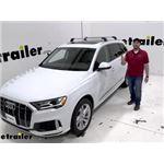 Thule AeroBlade Edge Crossbar Installation - 2020 Audi Q7