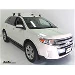 Thule Roof Rack Review - 2012 Ford Edge