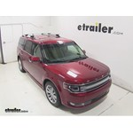 Thule AeroBlade Crossroad Roof Rack Installation - 2014 Ford Flex