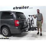 Thule Hitch Bike Racks Review - 2016 Chrysler Town and Country