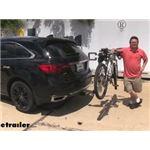 Thule Helium Pro 2 Bike Rack Review - 2017 Acura MDX
