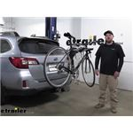 Thule Hitch Bike Racks Review - 2017 Subaru Outback Wagon