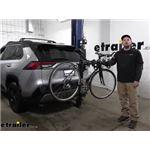 Thule Hitching Post Pro Hitch Bike Racks Review - 2021 Toyota RAV4