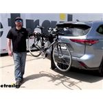 Thule Hitching Post Pro Hitch Bike Rack Review - 2021 Toyota Highlander