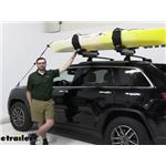 Thule Hullavator Pro Kayak Carrier and Lift Assist Review - 2021 Jeep Grand Cherokee