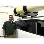 Thule Hullavator Pro Kayak Carrier and Lift Assist Review - 2015 Nissan Pathfinder