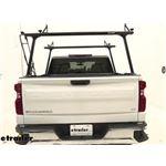 Thule TracRac TracONE Truck Bed Ladder Rack Installation - 2020 Chevrolet Silverado 1500