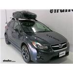 Thule Roof Box Review - 2014 Subaru XV Crosstrek
